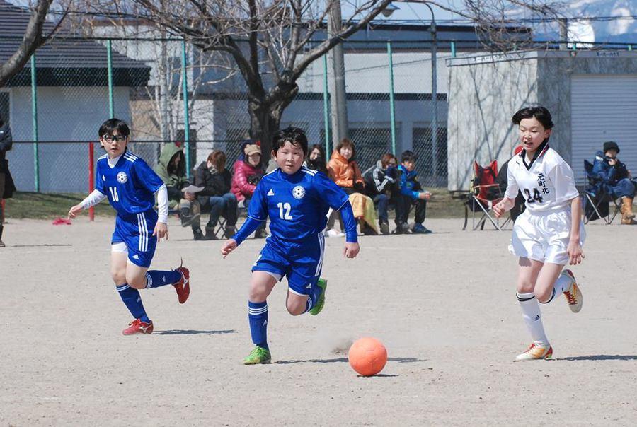 2014年4月洞爺湖町杯(虻田小学校)