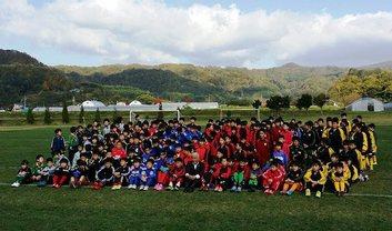 2014年10月洞爺湖町長杯コンサドーレカップ、サッカー・フットサル大会開催