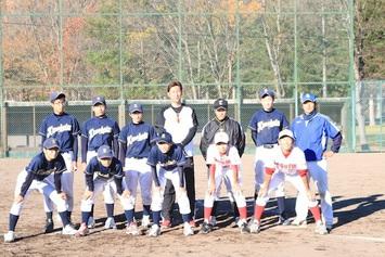 2014年10月 金村野球塾開催しました