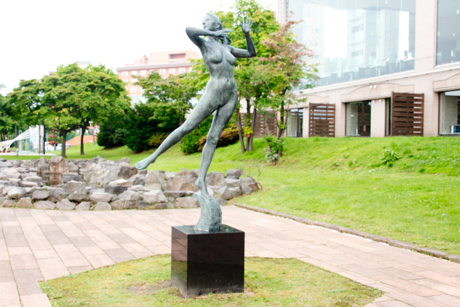 彫刻『太陽の賛歌』