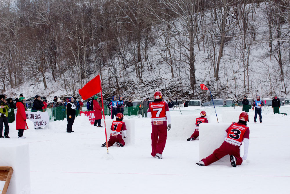 昭和新山国際雪合戦開催!
